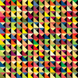 Colorful abstract pattern. Abstract colorful triangle pattern background Stock Photography