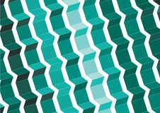 Colorful abstract  sorting design Royalty Free Stock Photography