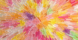 Colorful abstract pattern texture background Illustrations design Stock Photography