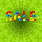 Colorful Abstract Psychedelic Art Background. Sale Stock Photos