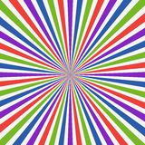 Colorful Abstract Psychedelic Art Background. Stock Image