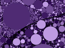 Colorful abstract purple circles background illustration Stock Photo