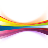 Colorful abstract rainbow stripe background Royalty Free Stock Photo