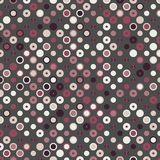 Colorful Abstract Random Circles Texture, Background Pattern Stock Photos