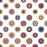 Colorful Abstract Random Circles Texture, Background Pattern Stock Images