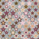 Colorful Abstract Random StarsTexture, Background Pattern Royalty Free Stock Photo