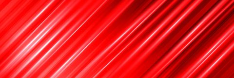 Colorful abstract red background with lines. Panoramic backdrop royalty free stock image