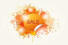 Colorful Abstract Sale Vector Royalty Free Stock Image