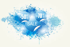 Colorful Abstract Sale Vector Royalty Free Stock Photo