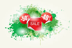 Colorful Abstract Sale Vector Royalty Free Stock Photography