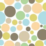 Colorful abstract seamless circle pattern background. Seamless circle pattern background. Texture background Royalty Free Illustration
