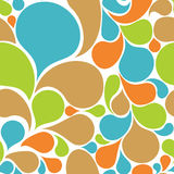 Colorful abstract seamless pattern Stock Image