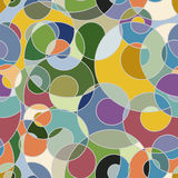 Colorful abstract seamless pattern Royalty Free Stock Photography