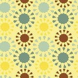 Colorful abstract seamless pattern background texture illustration Royalty Free Stock Photos