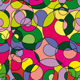Colorful abstract seamless pattern Royalty Free Stock Images