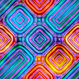 Colorful abstract seamless texture 2D illustration Royalty Free Stock Photo