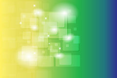 Colorful Abstract Shape Backround Royalty Free Stock Photography
