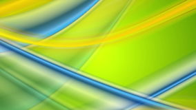 Colorful abstract shiny flowing waves video animation stock video