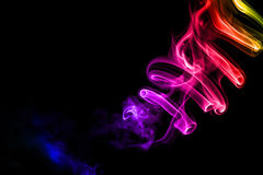 Colorful Abstract Smoke Stock Photos