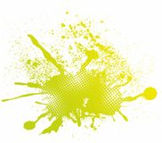 Colorful abstract splash design Royalty Free Stock Photo