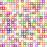 Colorful abstract square pattern background Stock Image