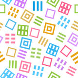 Colorful Abstract Squares Background Royalty Free Stock Image