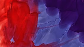 Colorful abstract stain watercolor . High resolution image, colors wet on dry paper backgrund stock illustration