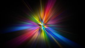 Colorful abstract Star burst light explosion background