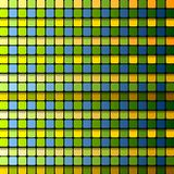 Colorful abstract tech squares vector background Royalty Free Stock Image