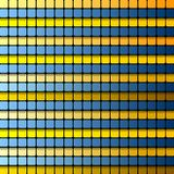 Colorful abstract tech vector background Royalty Free Stock Photography
