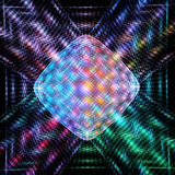 Colorful abstract technology fractal Stock Photography