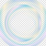 Colorful abstract transparent circle background Royalty Free Stock Image