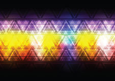Colorful abstract triangle background Royalty Free Stock Photos