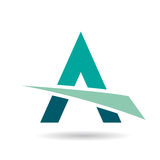 Colorful Abstract Triangle Symbol of Letter A Royalty Free Stock Photos
