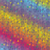Colorful Abstract Triangles Background Illustration Stock Photo