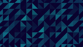 Colorful abstract triangles looping background. Good for screensaver in huge screen and background. As a wallpaper stock video footage