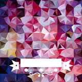 Colorful abstract triangular pattern Stock Photos