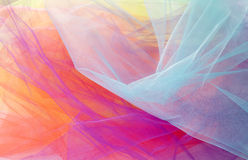 Colorful Abstract Tulle Background and Textures #2 Stock Images
