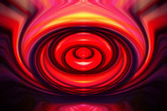 Colorful abstract twirl Stock Photo