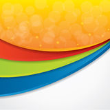 Colorful abstract vector background Stock Images