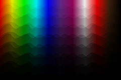 Colorful abstract vector background - waves. Abstract colorful tone background with curve lines Stock Images