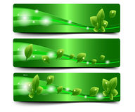 Colorful Abstract Vector Banner Royalty Free Stock Photos