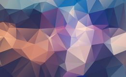 Colorful abstract vector illustration: triangular geometric low poly graphic background. Colorful abstract vector illustration: triangular geometric low poly stock illustration