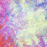 Colorful abstract watercolor acrylic painting. Brush strokes stock illustration