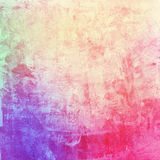 Colorful abstract watercolor acrylic painting. Brush strokes vector illustration