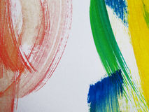 Colorful Abstract watercolor Royalty Free Stock Photography