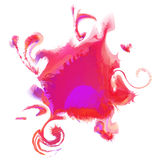 Colorful abstract watercolor stain. Vector Stock Images