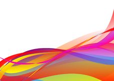 Colorful abstract wave background Vector illustration for your business.  vector illustration