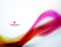 Colorful abstract wave design template. EPS10 Stock Photo