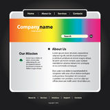 Website Template Vector Stock Photo